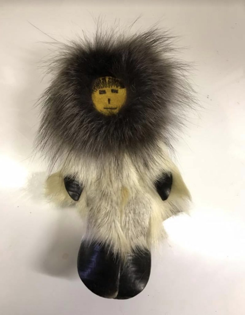 Caribou Hoof Eskimo Doll Handmade, Various Designs, Call for Price